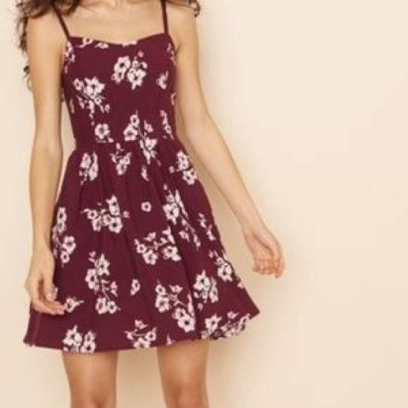 Floral flows dress
